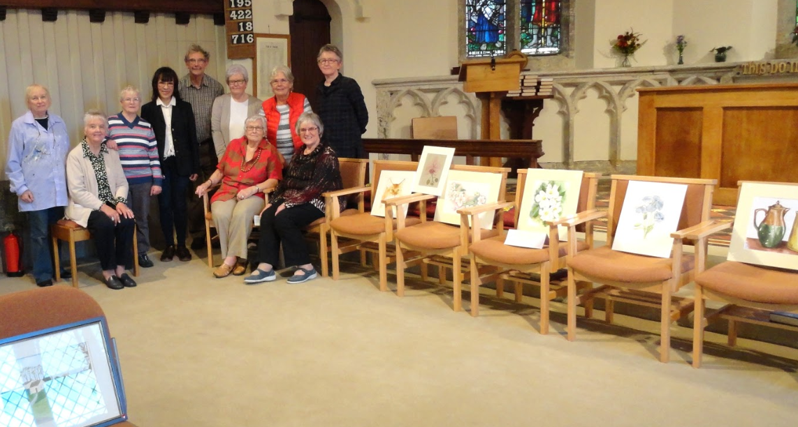 Some of the painting group
