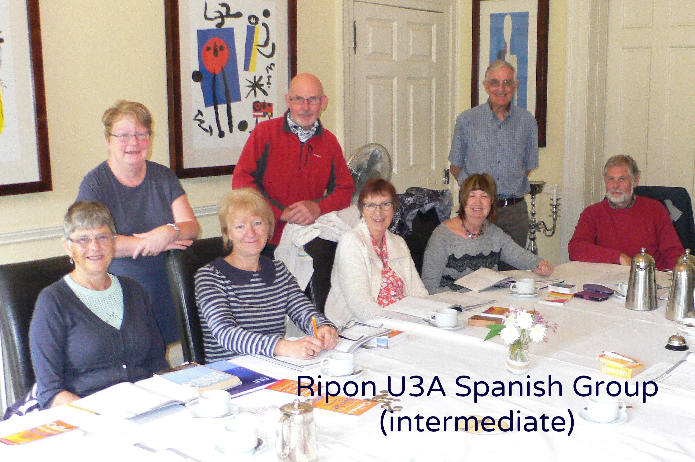 Some of the Spanish Group members