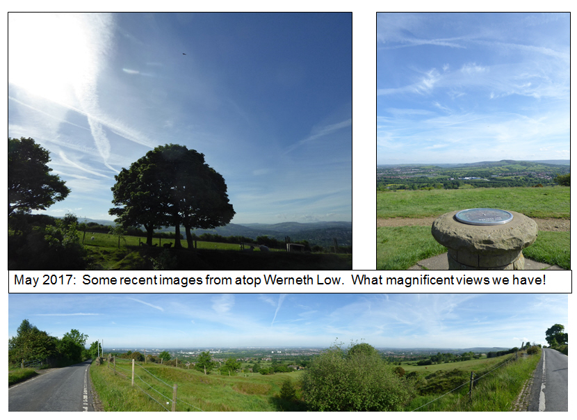 May 2017, Views from Werneth Low