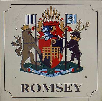 Coat of arms of Romsey