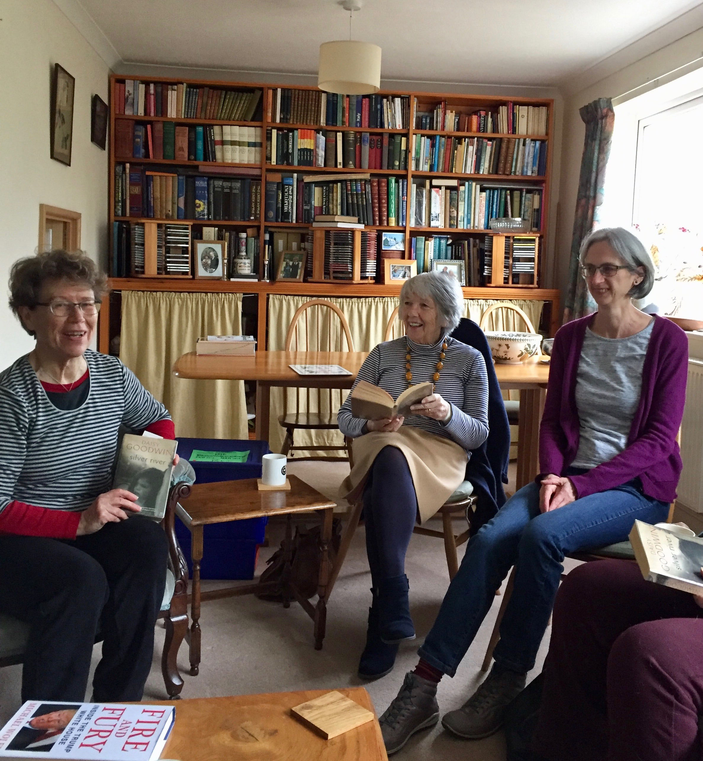 some members of our book group