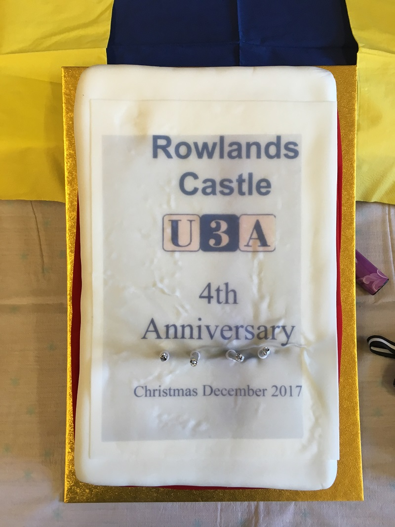 4th Anniversary of Rowlands Castle U3A