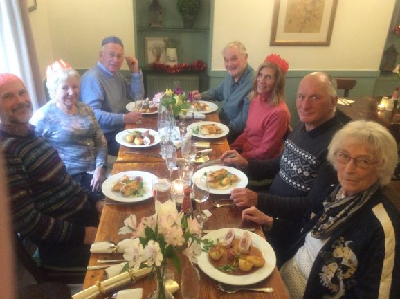 History group Christmas lunch 2019