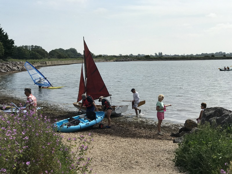 July walk by Chichester Harbour
