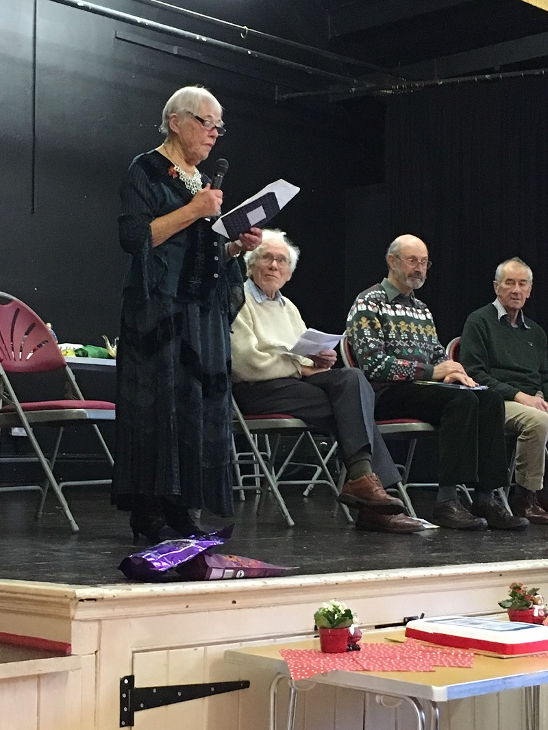 Poetry Group at Christmas party