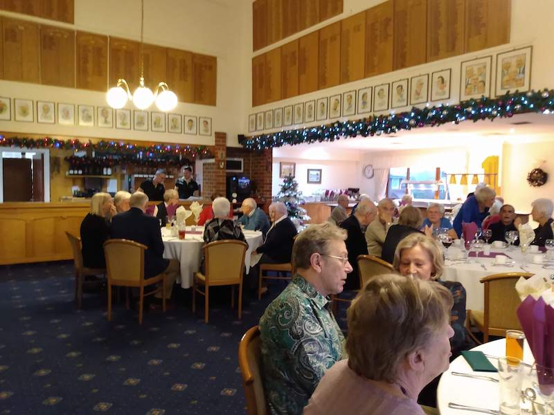 Christmas Lunch at the Golf Club 2019