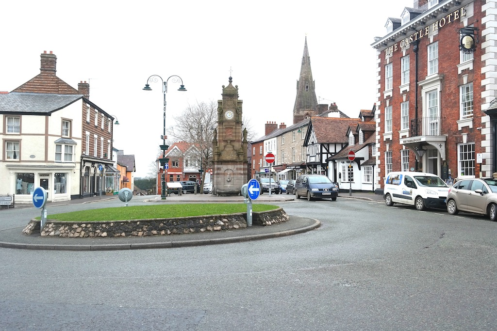 Ruthin Town Centre