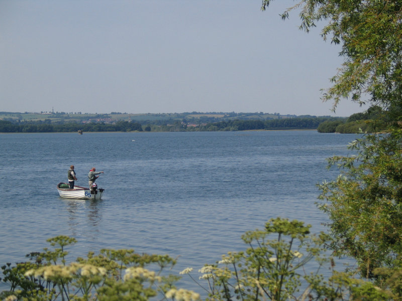 Fishing at Rutland Water