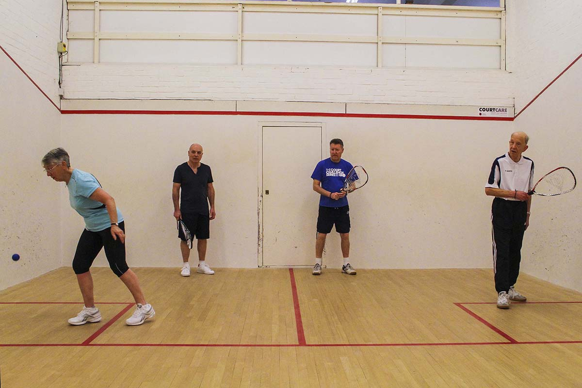 Racketball session 1