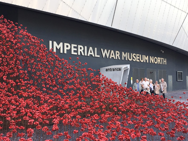 Visit To Imperial War Museum North