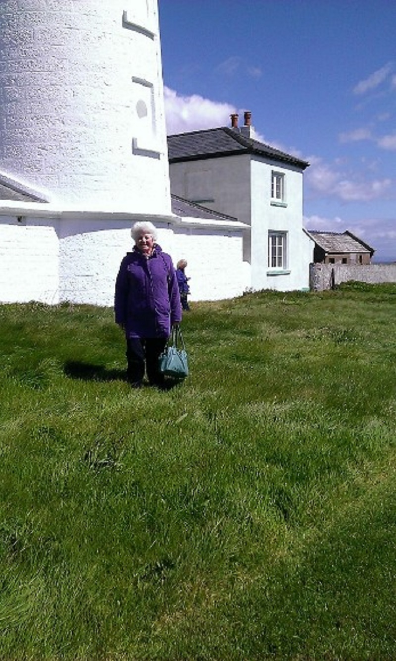 Pat on Caldey Island