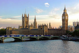 Houses of Parliament, Westminster.