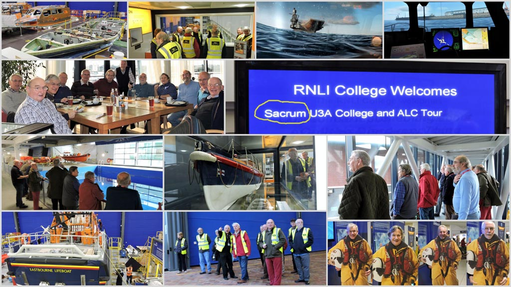 Visit to RNLI, Poole.