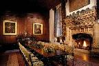 Interior of Hever Castle, Kent.