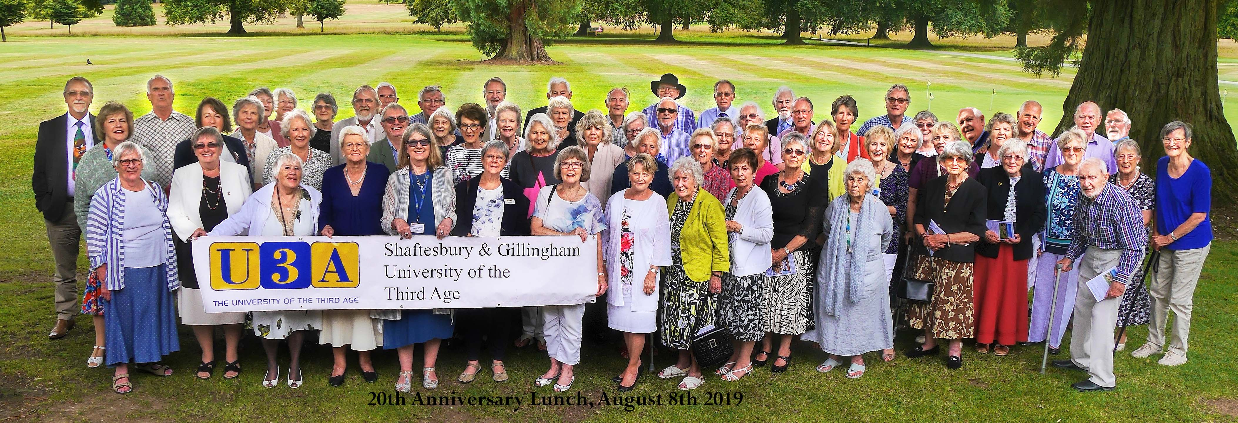 Members at the 20th anniversary lunch