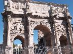 The Arch of Constantine, central Rome