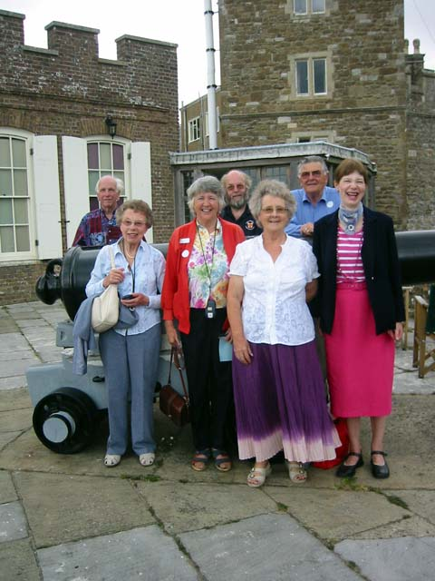 Walmer Castle group photo