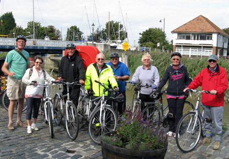 Cycling Group at Sandwich