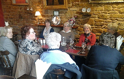 Monthly Lunch Club - Sele Arms, Broughto