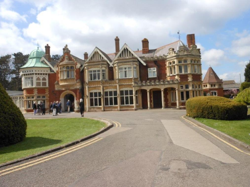 Bletchley Park - April 2015