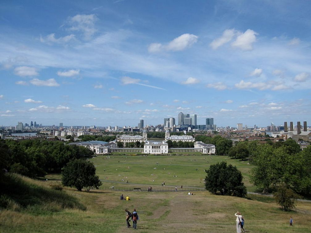 Greenwich Park and Queens House