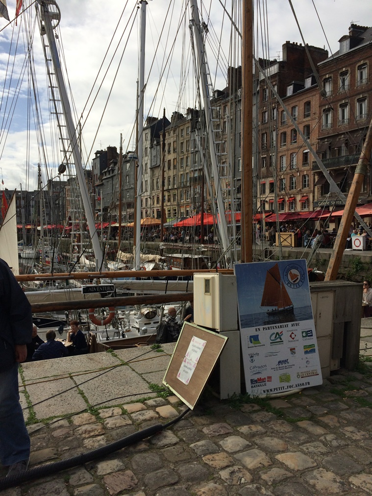 2017 mini cruise - Honfleur harbour