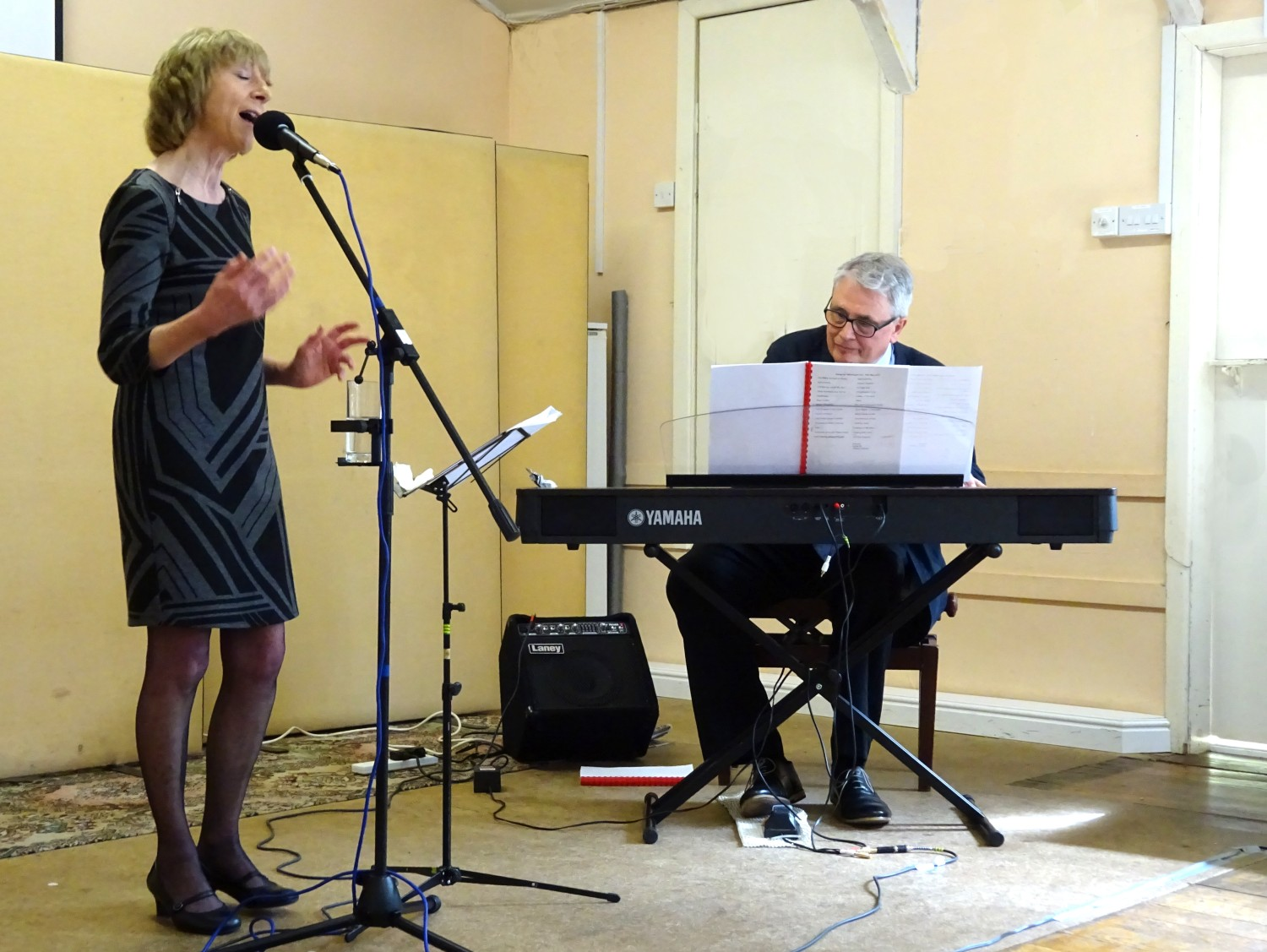 Julie Roberts + Michael Hinton duo