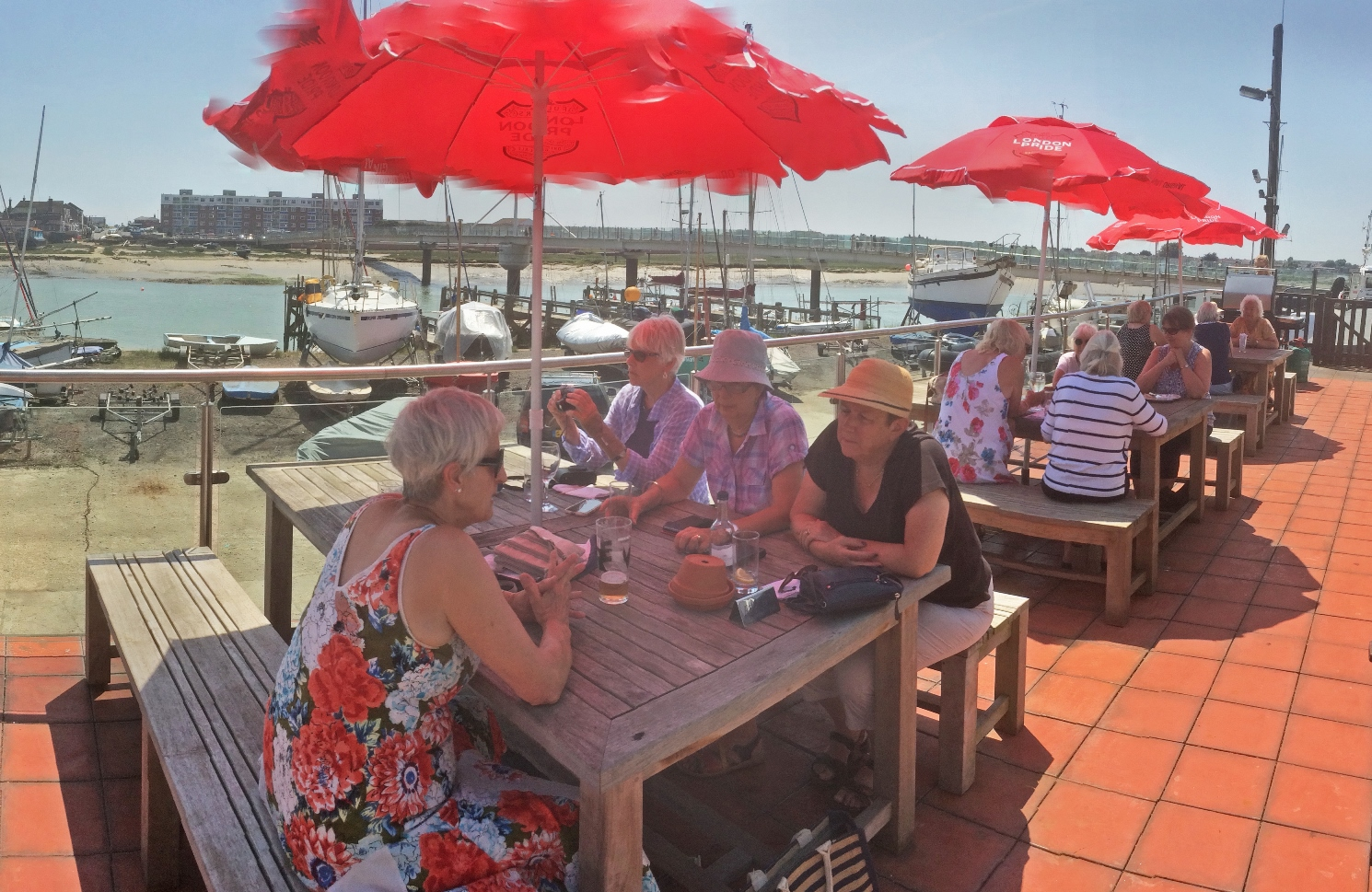 Lunch at Shoreham Yacht Club