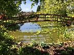 Durrance Manor Shipley - bridge and pond