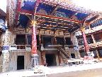 The Globe Theatre - the stage