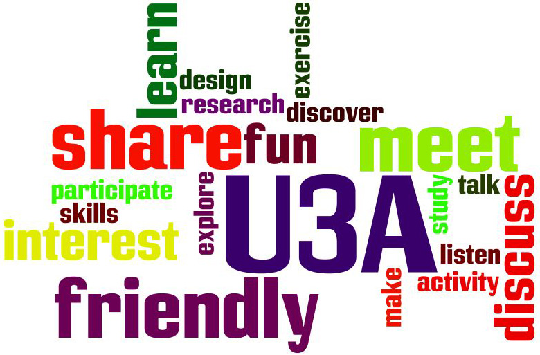 U3A means ... all these things