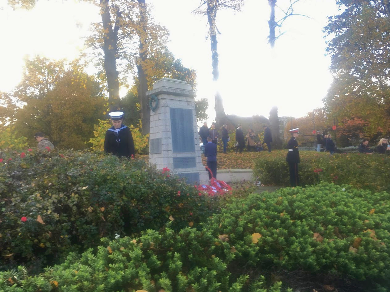 CEREMONY OF REMEMBRANCE c H.Salmon