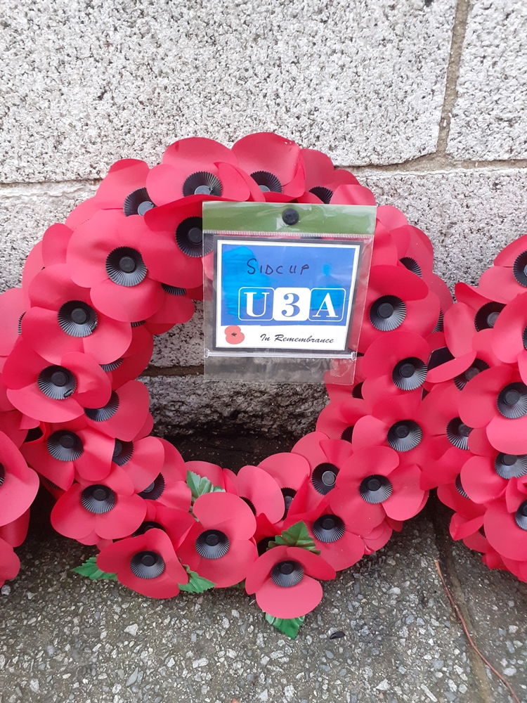 Sidcup U3A Wreath, c.T.Ford