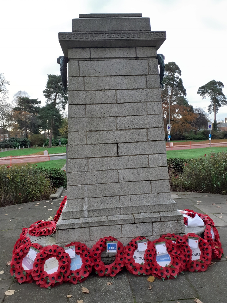 Sidcup War Memorial (Back), c.T.Ford