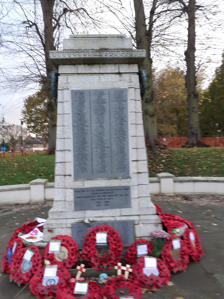 Sidcup War Memorial (Front), c.T.Ford