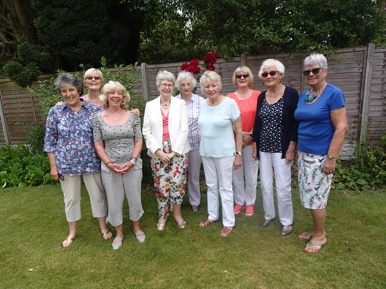 Garden Party 2019 Team Photo