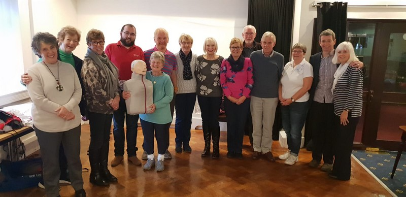 Silhill U3a First Aid Attendees