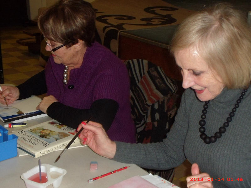 Art & Craft Group meeting
