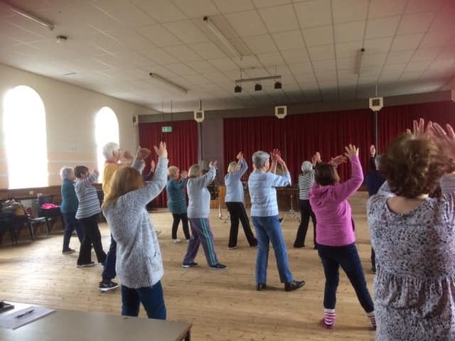 23 members attended Tai Chi