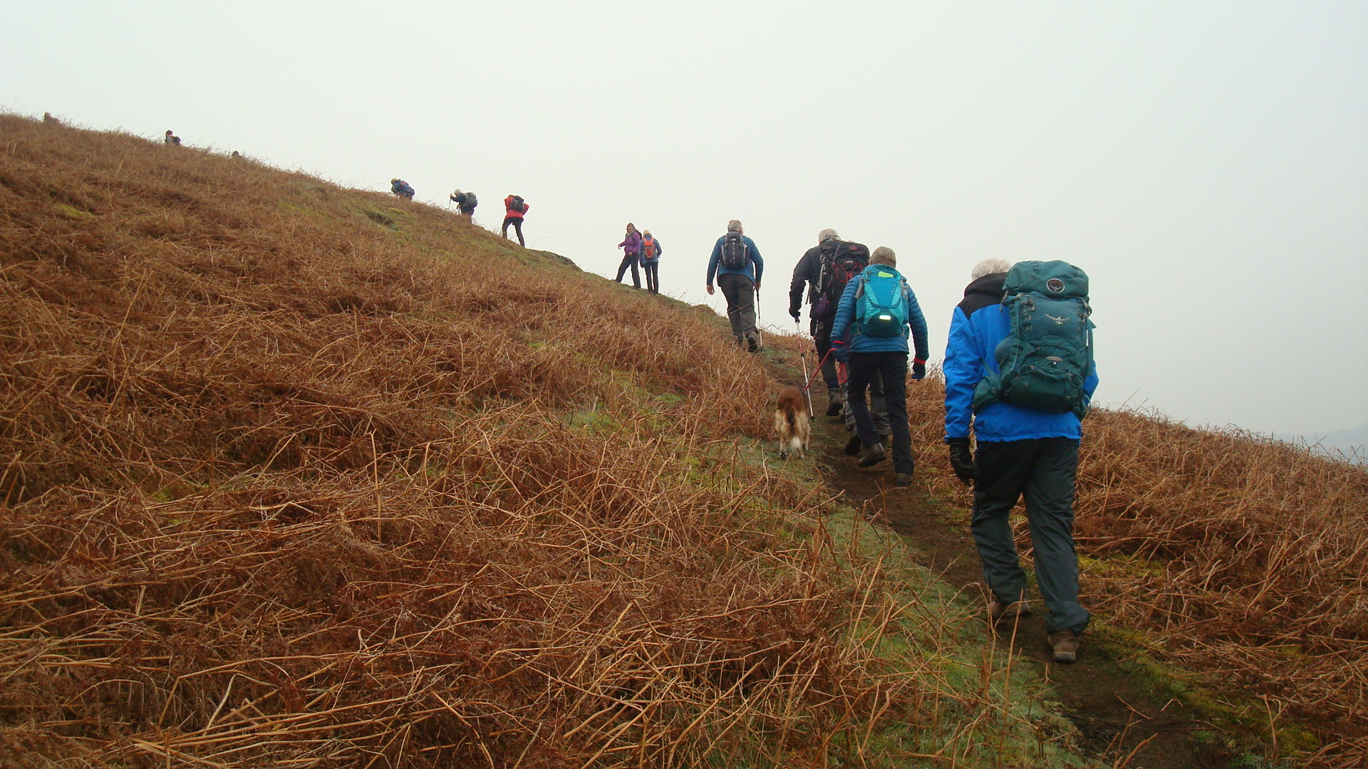 Climbing Souther Fell; 28/02/2019