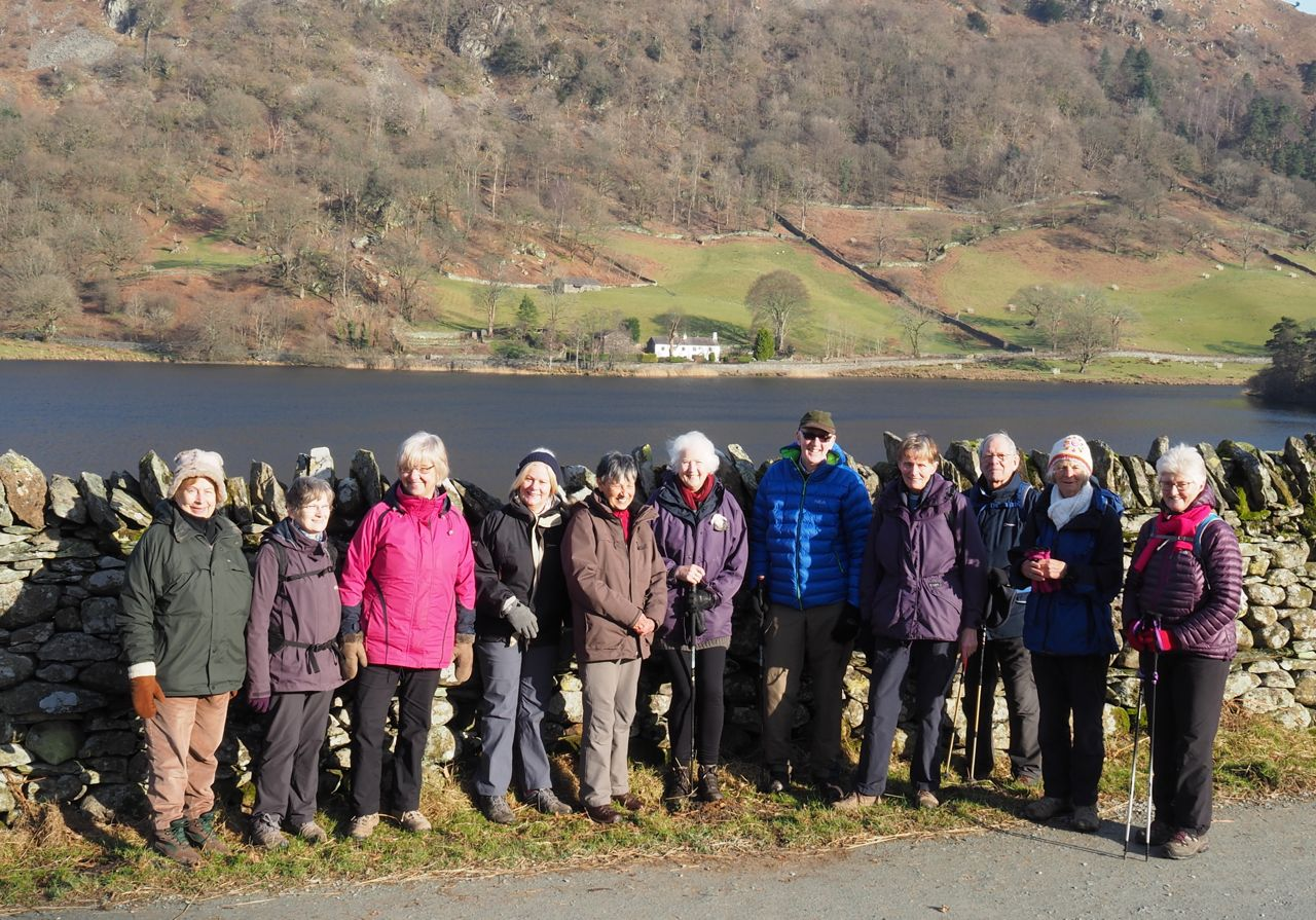 Strollers at Rydal Water