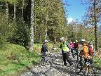 Cycling in Whinlatter - April 2016