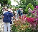 Enjoying Dower House garden tour