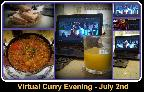July Virtual Curry Evening