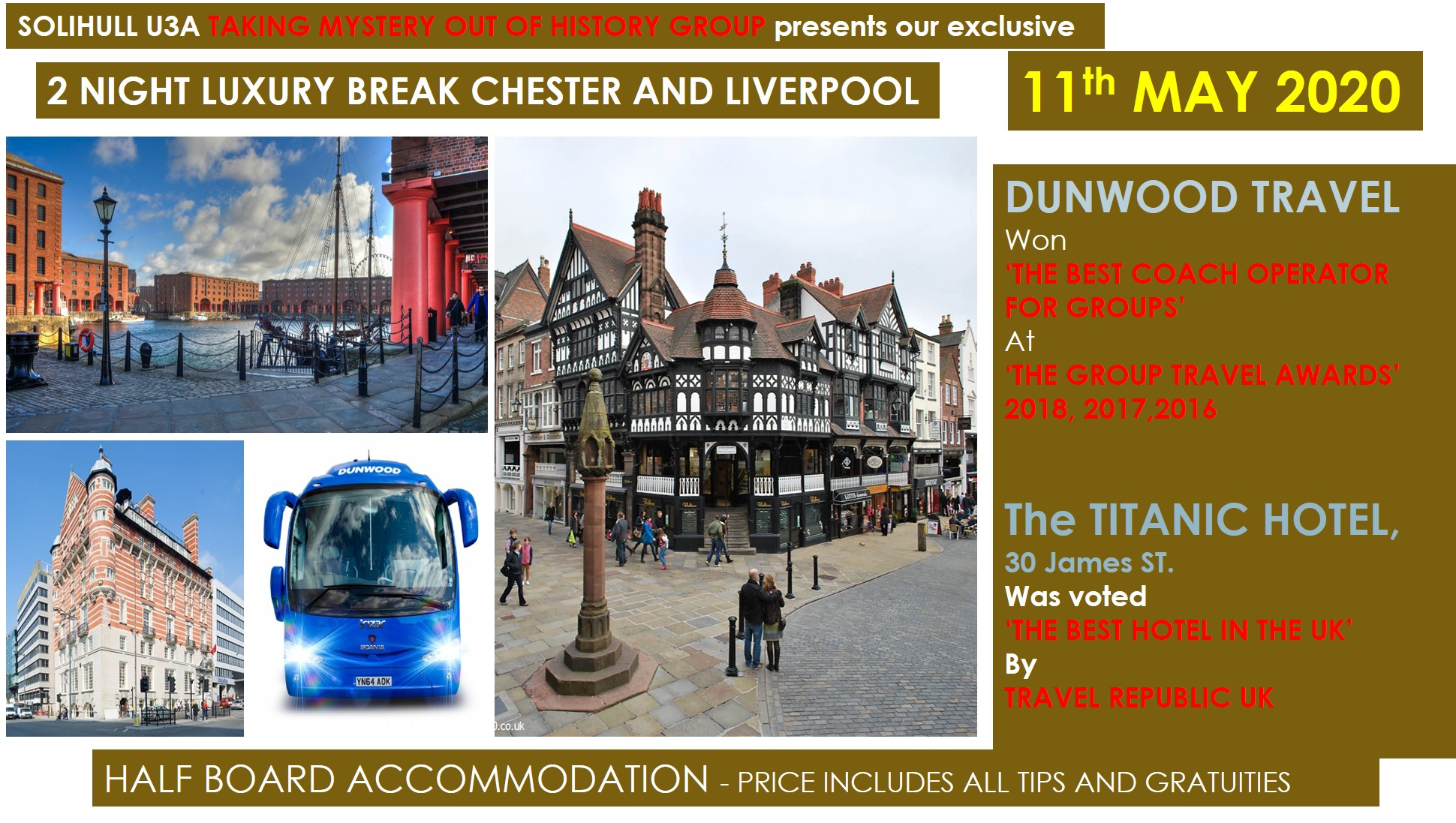 CHESTER AND LIVERPOOL TRIP