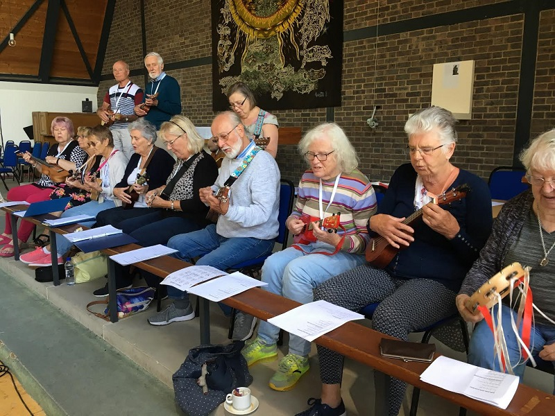 Ukulele Group Summer School Chichester