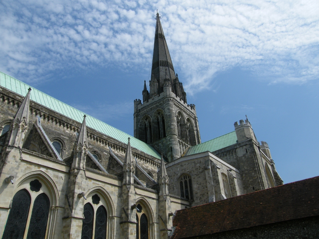 Chichester Cathedral Close Up