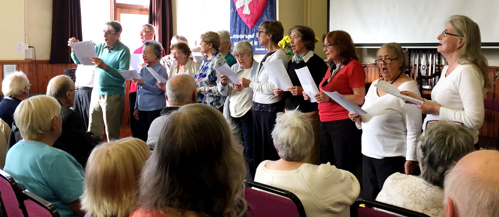 Singers serenade our Open Day