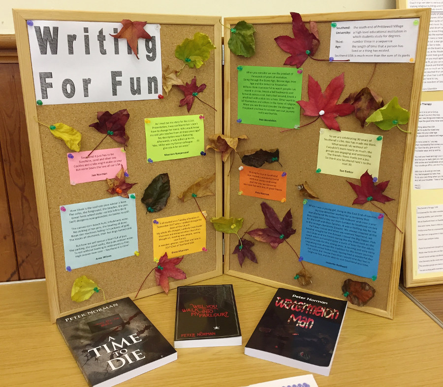 Writers contribute to Open Day