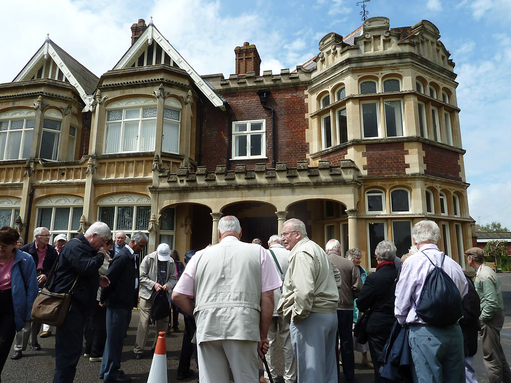 Visit to Bletchley Park - June 2012